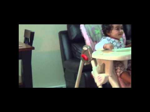 funny baby laughing hilariously