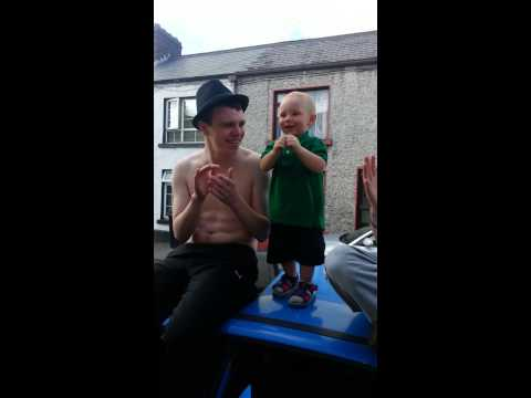 Funny baby irish
