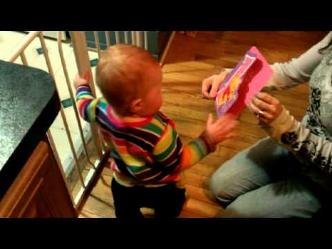 Cute and Funny Baby Dancing To Musical Greeting Card