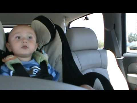 baby boy singing Lady Gaga-SO FUNNY!