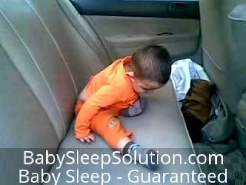Funny Infant Sleeping Video – Nodding Off in the Car