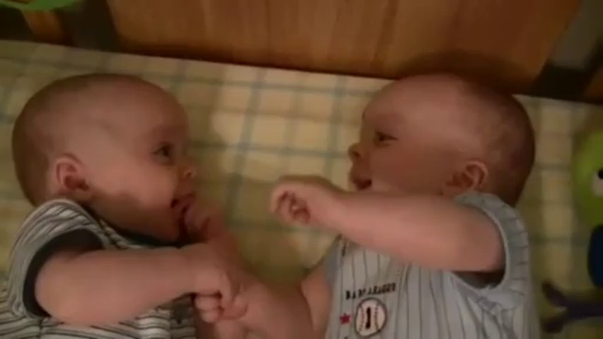 Twin Baby Boys Laughing – Funny Videos at FullySilly